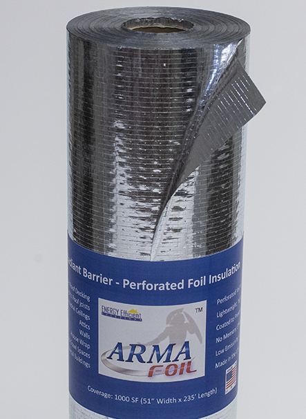 ARMA FOIL™ | Perforated Radiant Barrier | Foil Insulation