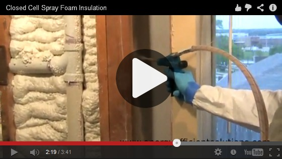 Insulating a Wall with 3 in. of Foam (Cone Nozzle)