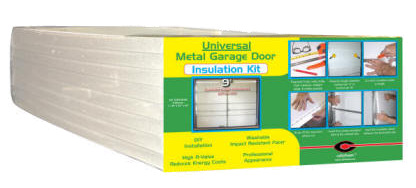 Foam panels garage door insulation kit product images for Energy efficient garage doors