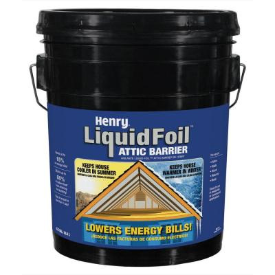 Liquid Foil Spray Radiant Barrier Paint Coating 5gal Ebay