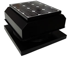 Solar Powered Fan: AB-204A