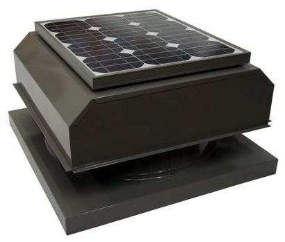 Solar Power Attic Fan