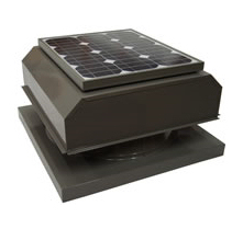 Attic Breeze Solar Powered Attic Ventilation Fan