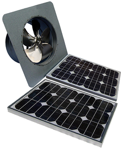 Solar Powered Fan: AB-405