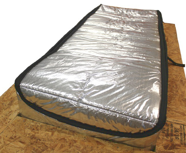 Draft Out Attic Stair Cover With Arma Foil Seal Access