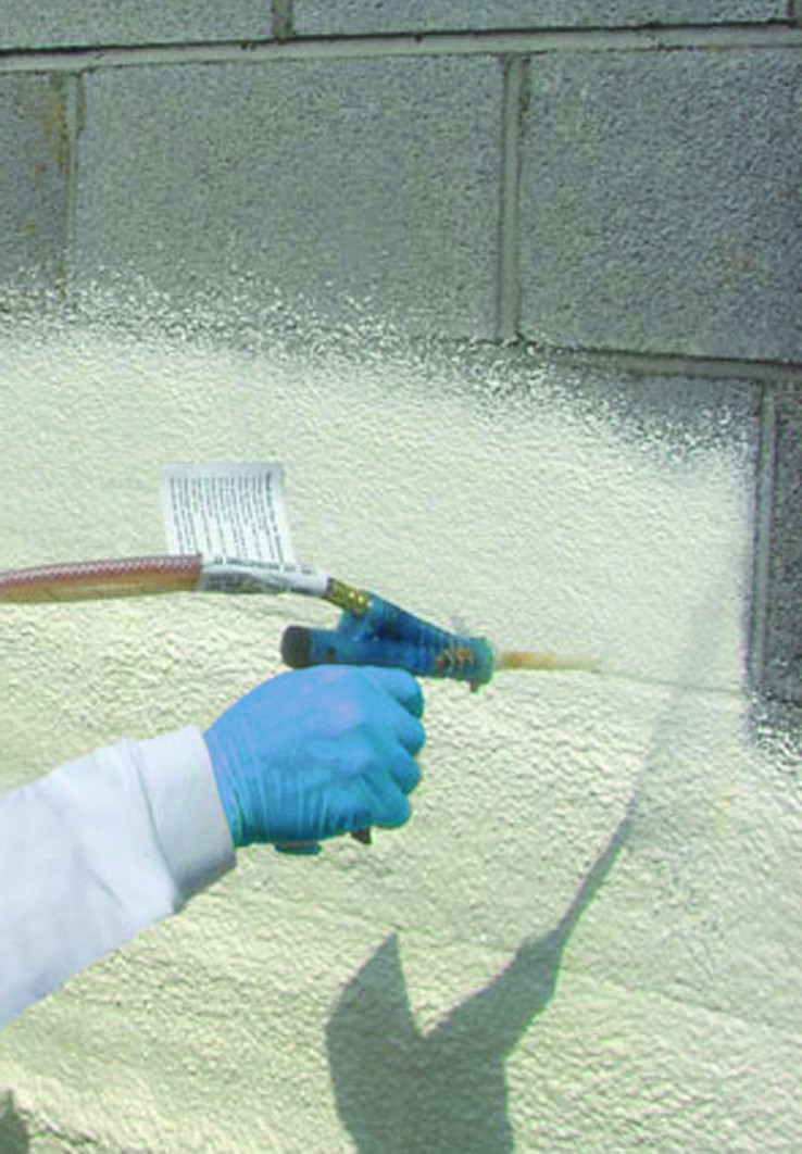 Spray On Plaster For Walls : Selecting the right foam for my climate zone