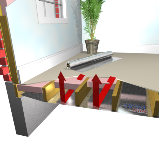 How To Install Radiant Barrier In Floor Radiant Heat