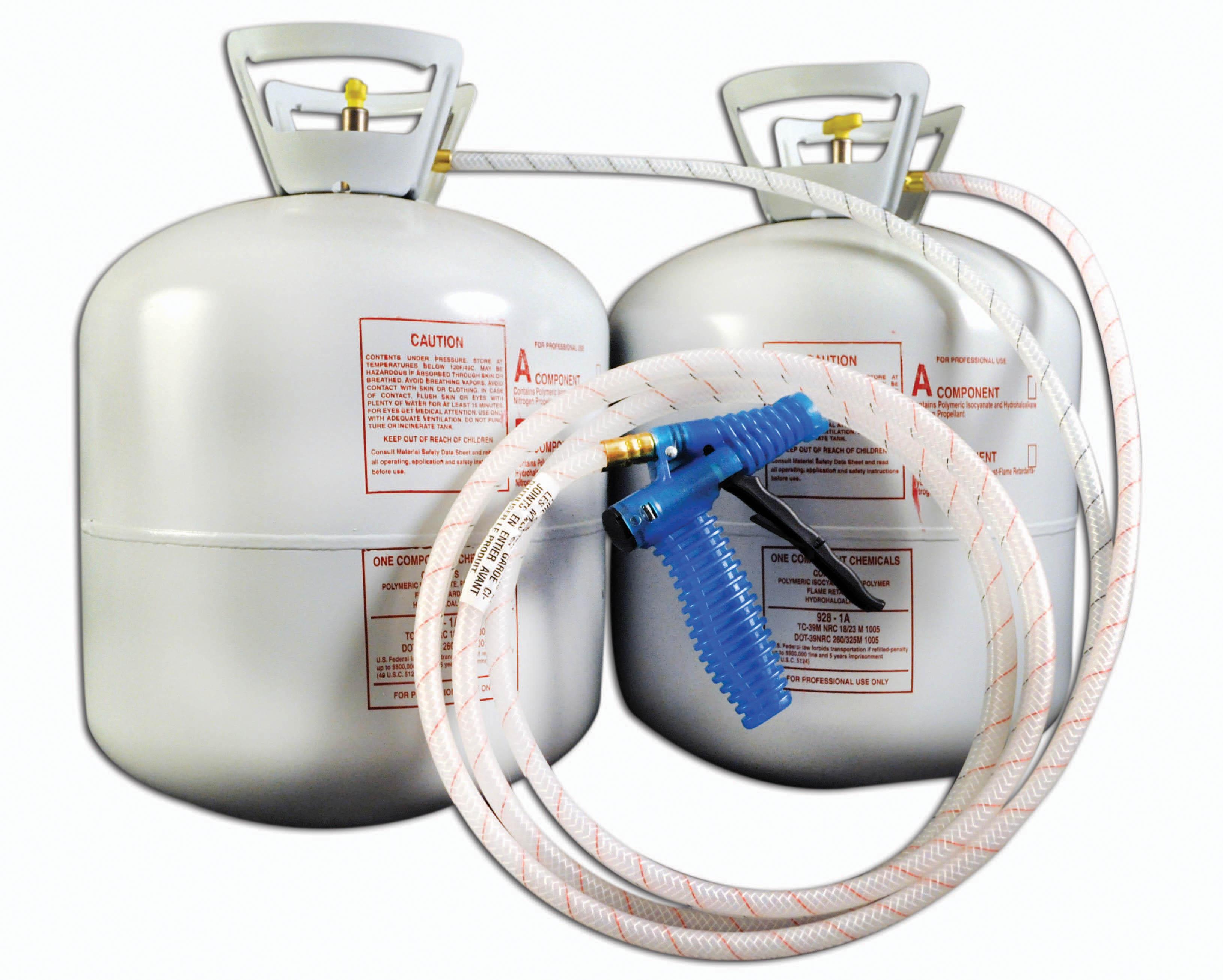 Handi Foam 1200 Bf Closed Cell Spray Foam Insulation Kit