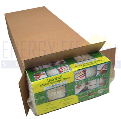 Garage Door Insulation Kit 8 Foam Panel Inserts Ebay