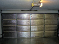 Garage door insulation kit insulate garage door for Energy efficient garage doors