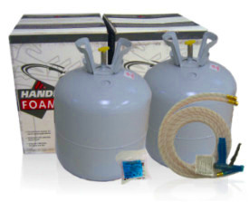 Open Cell Spray Foam Kit