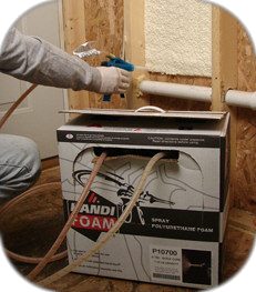 Spray Foam Insulation Kits Low Pressure Expanding