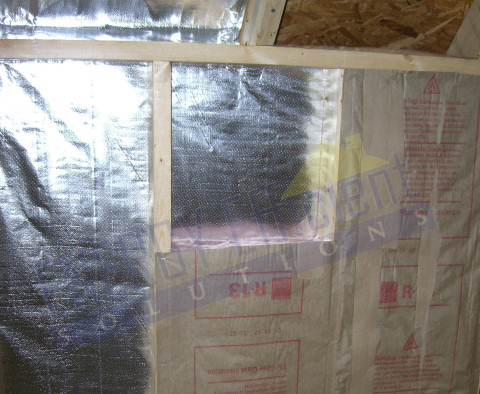 Radiant Barrier In Walls Crawl Space Radiant Barrier