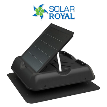 Solar Royal Attic Fan