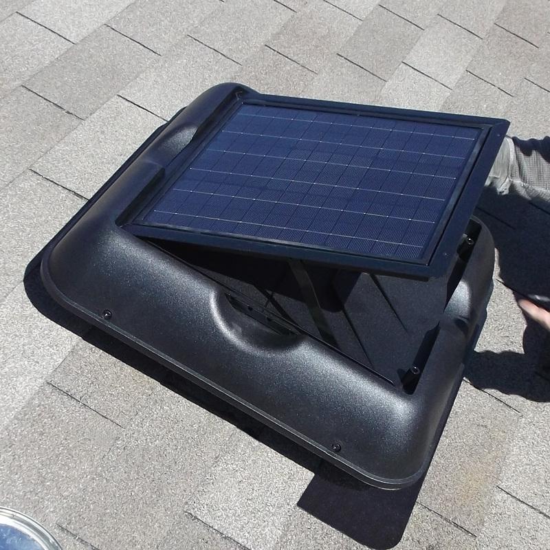 Attic Exhaust Fan Hood : Solar royal attic vents exhaust fan