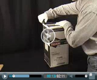 205 Bdft Fired Rated Insulation Fire Retardant Spray Foam